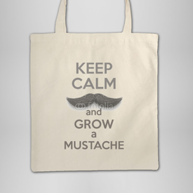 Torba bawełniana Keep Calm and grow a Mustaches