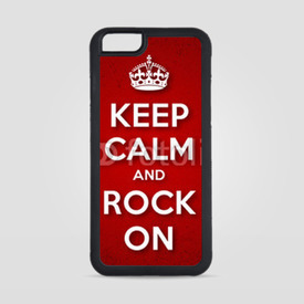 Obudowa na iPhone 6/6s Keep Calm and Rock On
