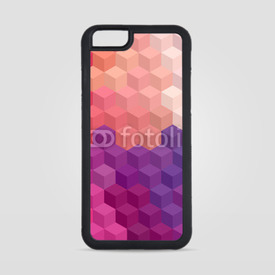 Obudowa na iPhone 6/6s Multicolor cubic mosaic.
