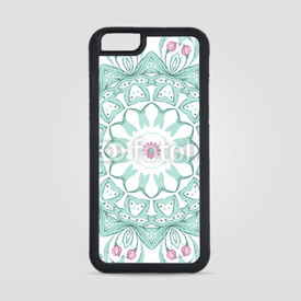 Obudowa na iPhone 6/6s Watercolor mandala on white background
