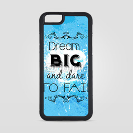 Obudowa na iPhone 6/6s Dream big and dare to fail