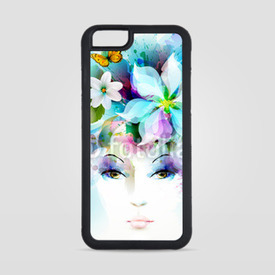 Obudowa na iPhone 6/6s Beautiful fashion women face