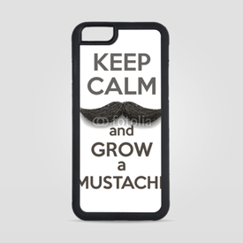 Obudowa na iPhone 6/6s Keep Calm and grow a Mustaches