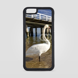 Obudowa na iPhone 6/6s the pier in Sopot with swan