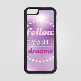 Obudowa na iPhone 6/6s Follow your dreams