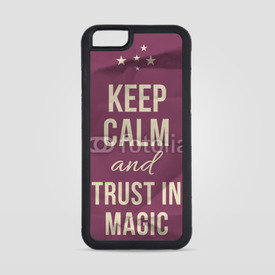 Obudowa na iPhone 6/6s Keep calm trust in magic