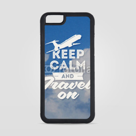 Obudowa na iPhone 6/6s Keep calm and travel on