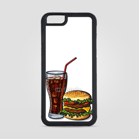 Obudowa na iPhone 6/6s Burger z colą