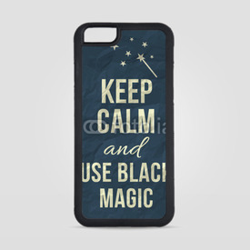 Obudowa na iPhone 6/6s Keep calm and use black magic