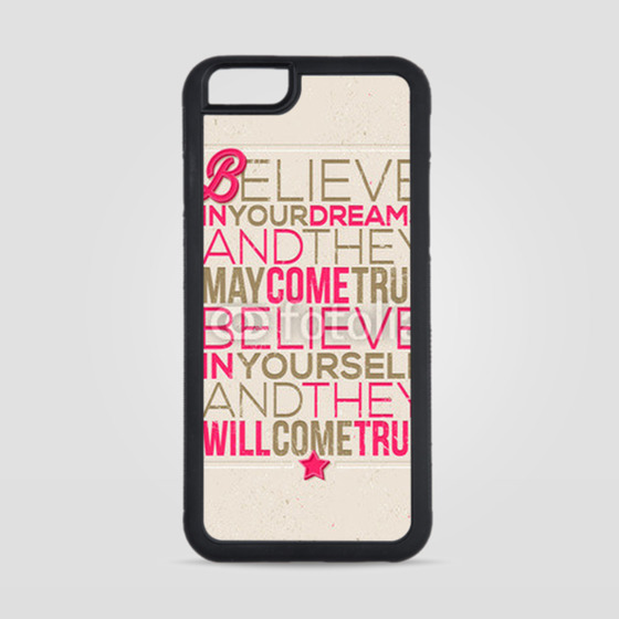 Obudowa na iPhone 6/6s Believe in yourself