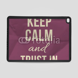 Obudowa na iPad Air 2 Keep calm trust in magic