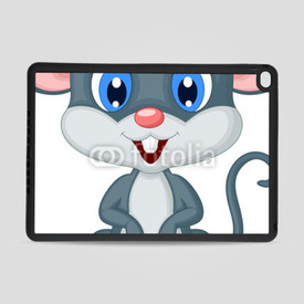Obudowa na iPad Air 2 Cute mouse cartoon