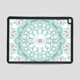 Obudowa na iPad Air 2 Watercolor mandala on white background