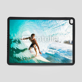Obudowa na iPad Air 2 Surfer on Blue Ocean Wave in the Tube Getting Barreled