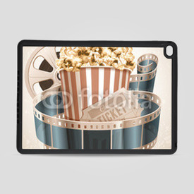 Obudowa na iPad Air 2 Retro popcorn