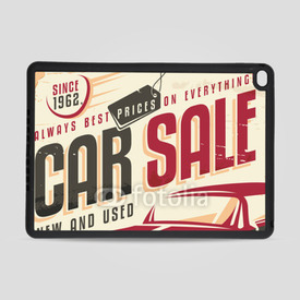 Obudowa na iPad Air 2 Care sale vintage sign