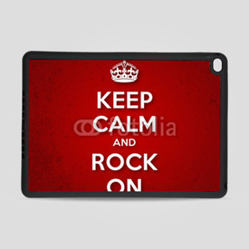 Obudowa na iPad Air 2 Keep Calm and Rock On
