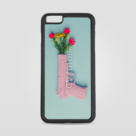 Etui na iPhone 6 Plus Kwiatowy pistolet