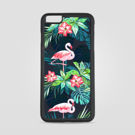 Etui na iPhone 6 Plus Tropikalne Flamingi