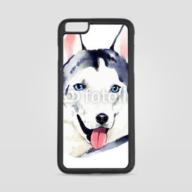 Etui na iPhone 6 Plus Pies husky