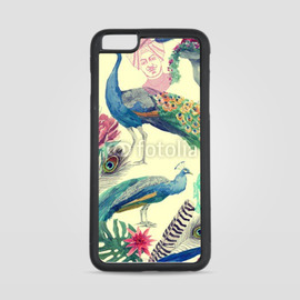 Etui na iPhone 6 Plus Kolorowy paw
