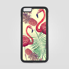 Etui na iPhone 6 Plus Flamingi i ananasy