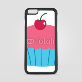 Etui na iPhone 6 Plus/6s Plus Wiśniowy muffin