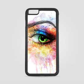 Etui na iPhone 6 Plus/6s Plus Akwarelowe oko