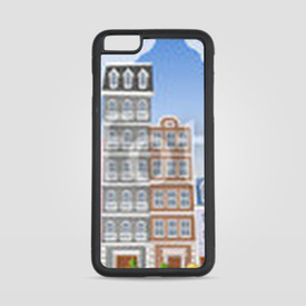 Etui na iPhone 6 Plus/6s Plus Big colorful city landscape with buildings