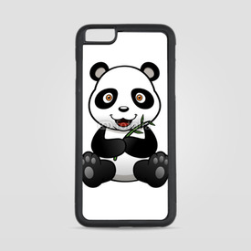 Etui na iPhone 6 Plus/6s Plus Panda z bambusem