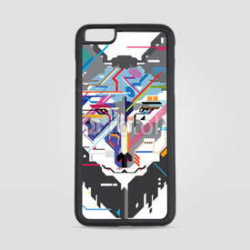 Etui na iPhone 6 Plus/6s Plus Wektorowy wilk