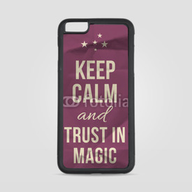 Etui na iPhone 6 Plus/6s Plus Keep calm trust in magic