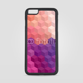 Etui na iPhone 6 Plus/6s Plus Multicolor cubic mosaic.