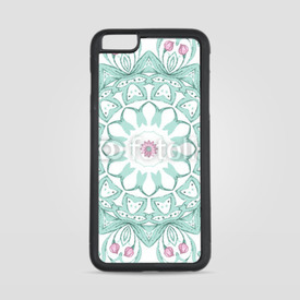 Etui na iPhone 6 Plus/6s Plus Watercolor mandala on white background