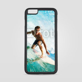 Etui na iPhone 6 Plus/6s Plus Surfer on Blue Ocean Wave in the Tube Getting Barreled