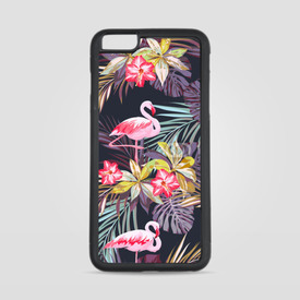 Etui na iPhone 6 Plus/6s Plus Tropikalne Flamingi