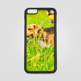Etui na iPhone 6 Plus/6s Plus Dwa beagle na łące