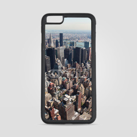 Etui na iPhone 6 Plus/6s Plus Manhattan z lotu ptaka