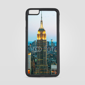 Etui na iPhone 6 Plus/6s Plus Empire State Building o zmierzchu