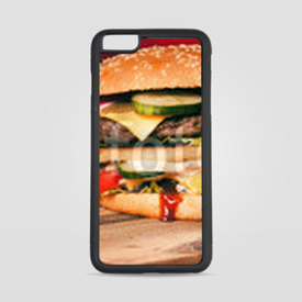 Etui na iPhone 6 Plus/6s Plus Burger z frytkami
