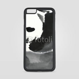 Etui na iPhone 6 Plus/6s Plus Akwarelowa panda