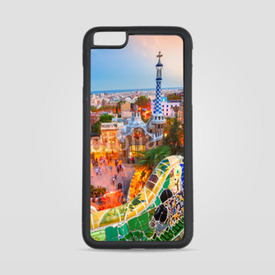 Etui na iPhone 6 Plus/6s Plus Park Guell w Barcelonie