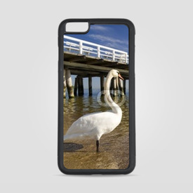 Etui na iPhone 6 Plus/6s Plus the pier in Sopot with swan
