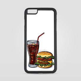 Etui na iPhone 6 Plus/6s Plus Burger z colą