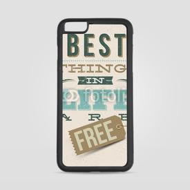 Etui na iPhone 6 Plus/6s Plus Best things in life are free