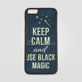 Etui na iPhone 6 Plus/6s Plus Keep calm and use black magic