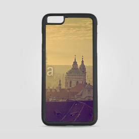 Etui na iPhone 6 Plus/6s Plus Praga o poranku