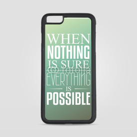 Etui na iPhone 6 Plus/6s Plus When nothing is sure...