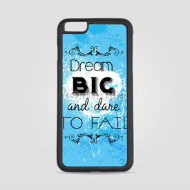 Etui na iPhone 6 Plus/6s Plus Dream big and dare to fail