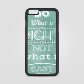 Etui na iPhone 6 Plus/6s Plus Do what is right